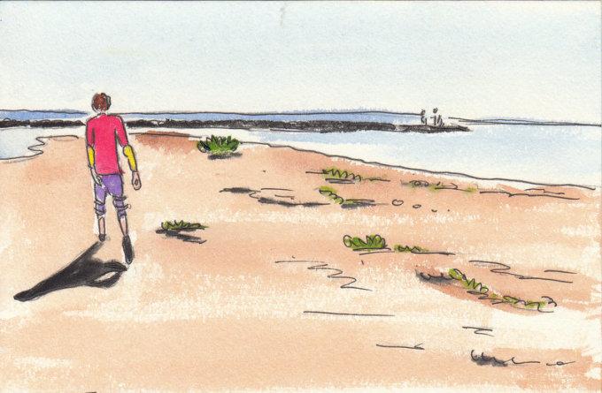 【海量插画】手绘两个人的摩托车旅程--全记录泰国中南部(美攻火车市