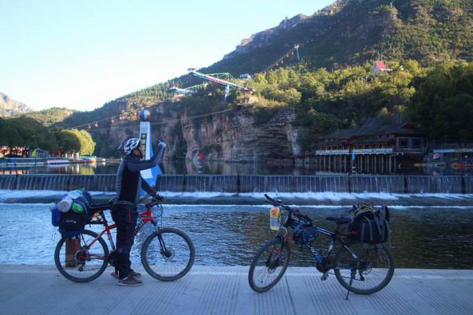 弱逼屌丝自行车骑行北京房山108国道 六石路 十渡 红井路2015年