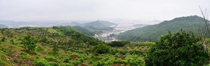 宁海风景区桶盘山