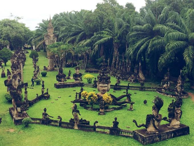 xieng福_香昆佛像公园 xieng kuane buddha park