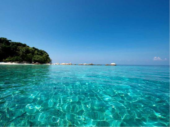 大马海岛蜜月—热浪岛和浪中岛