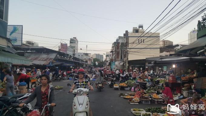 越南街道风景图片