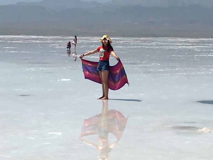 下一站就是天空之镜茶卡盐湖了,回去洗漱之后 从黑马河到那边要1个半