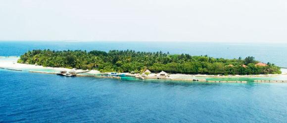 长沙/香港多城市出发马尔代夫艾丽湖岛往返6-7天自由行2晚沙屋2晚水屋