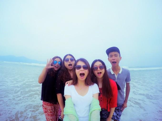不过有好天气,真的推荐去山茶半岛和灵姑湾啊!