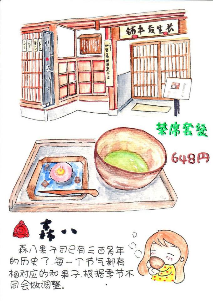 小饕北国美食の旅 手绘游记,日本旅游攻略 - 蚂蜂窝